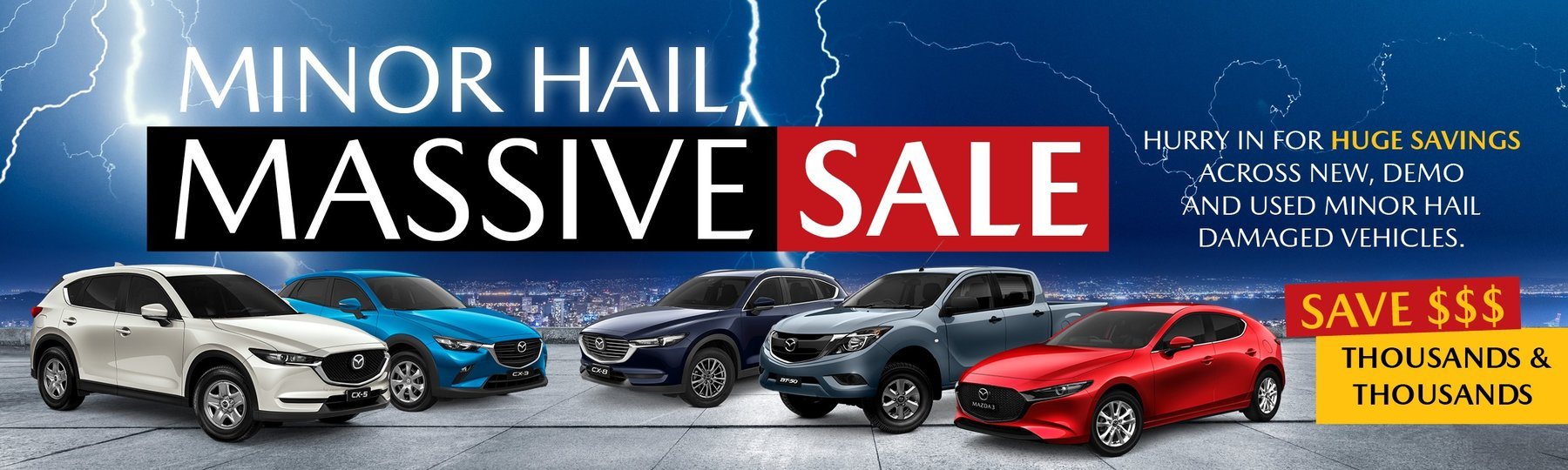 Minor Hail, Massive Sale