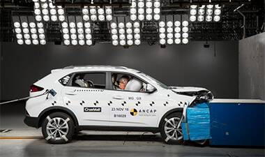 MG GS 5 Star Safety Rating
