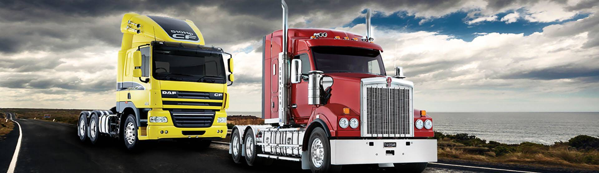 Kenworth and DAF Trucks