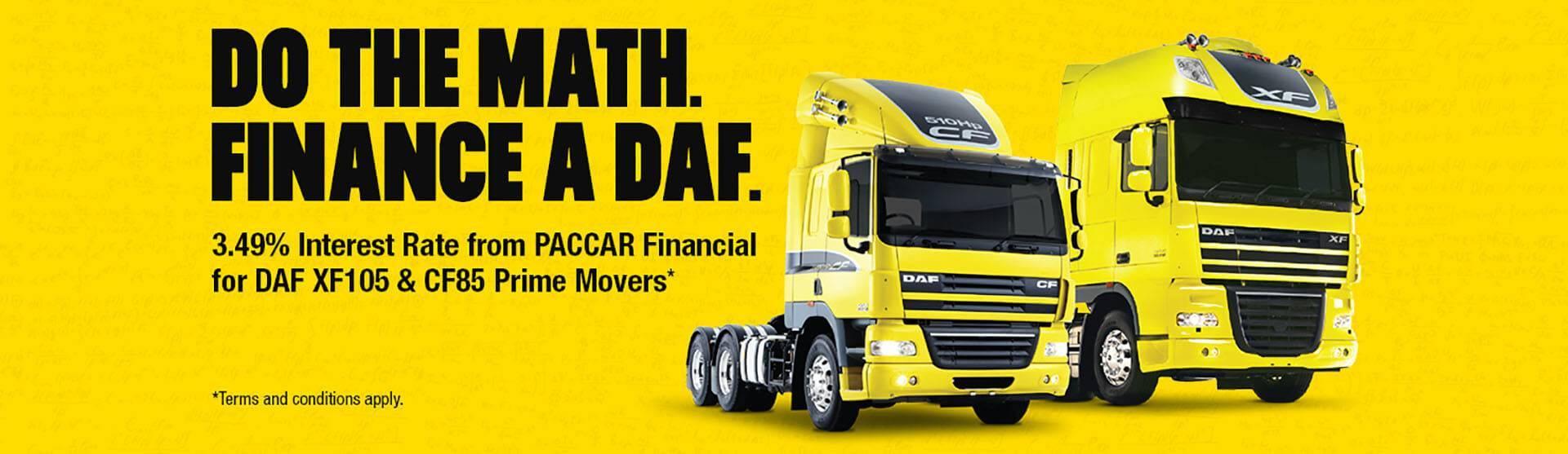 DAF Financing Offer
