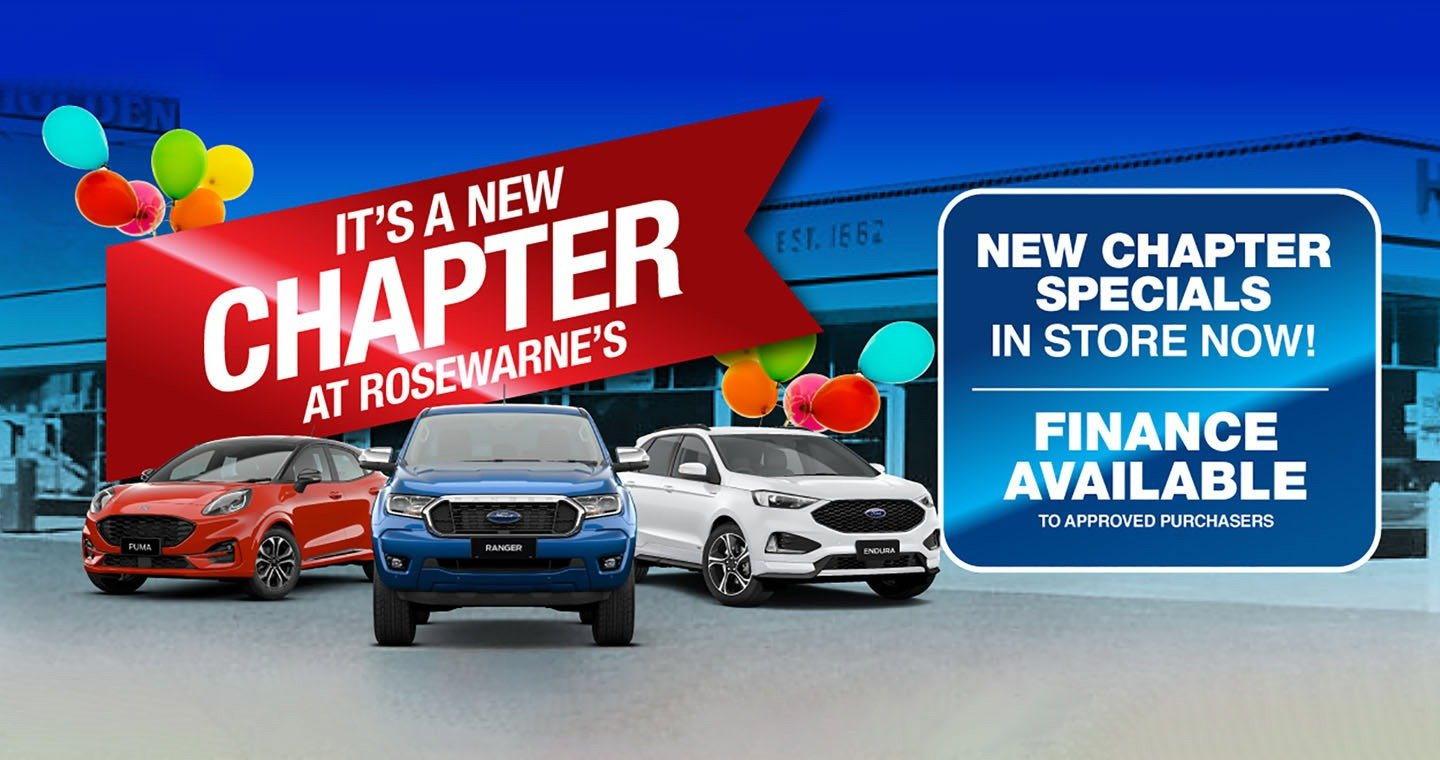 Rosewarnes Ford | All New Chapter Special!