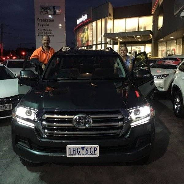 Congratulations On Your New Vehicles From Alex McGill And The Whole Team At  Franskton Toyota!