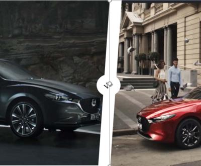 Mazda 3 vs Mazda image