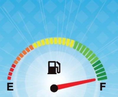 Fuel guage image