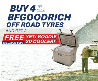 Free Yeti Roadie Cooler image