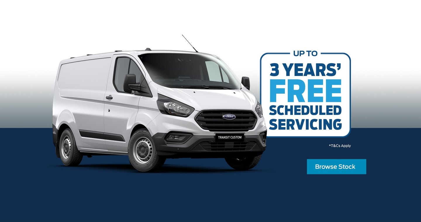 Ford Transit Custom Service Offer