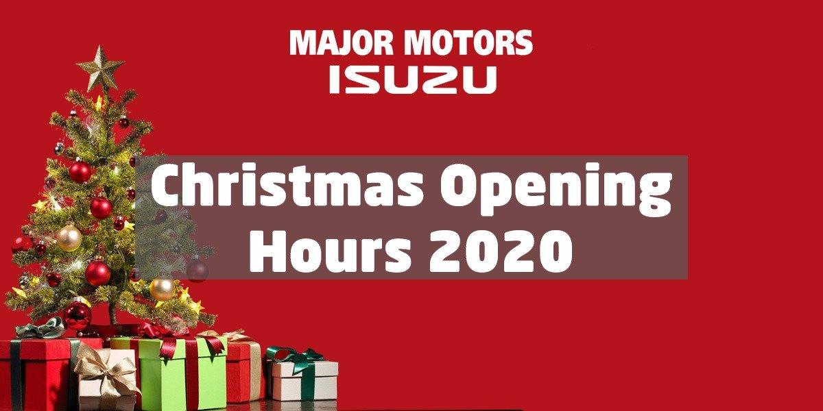 blog large image - Christmas Opening Hours 2020