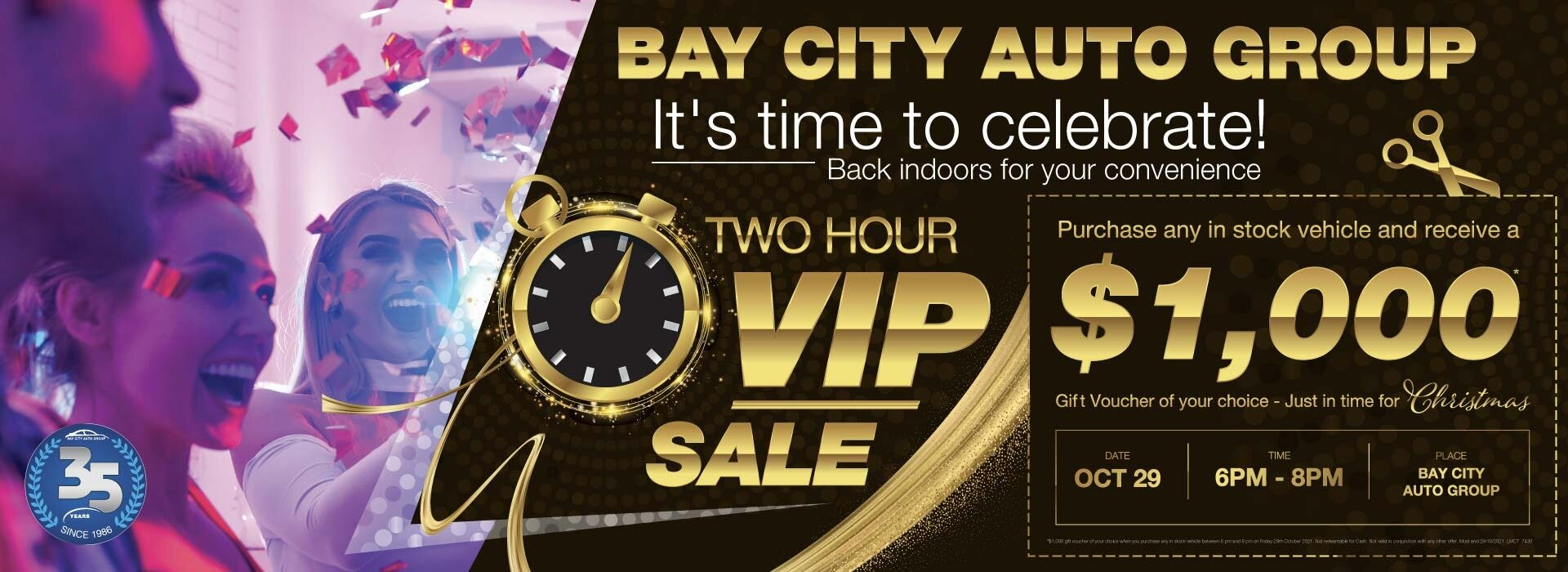 Bay City Auto Group - Two Hour VIP Sale