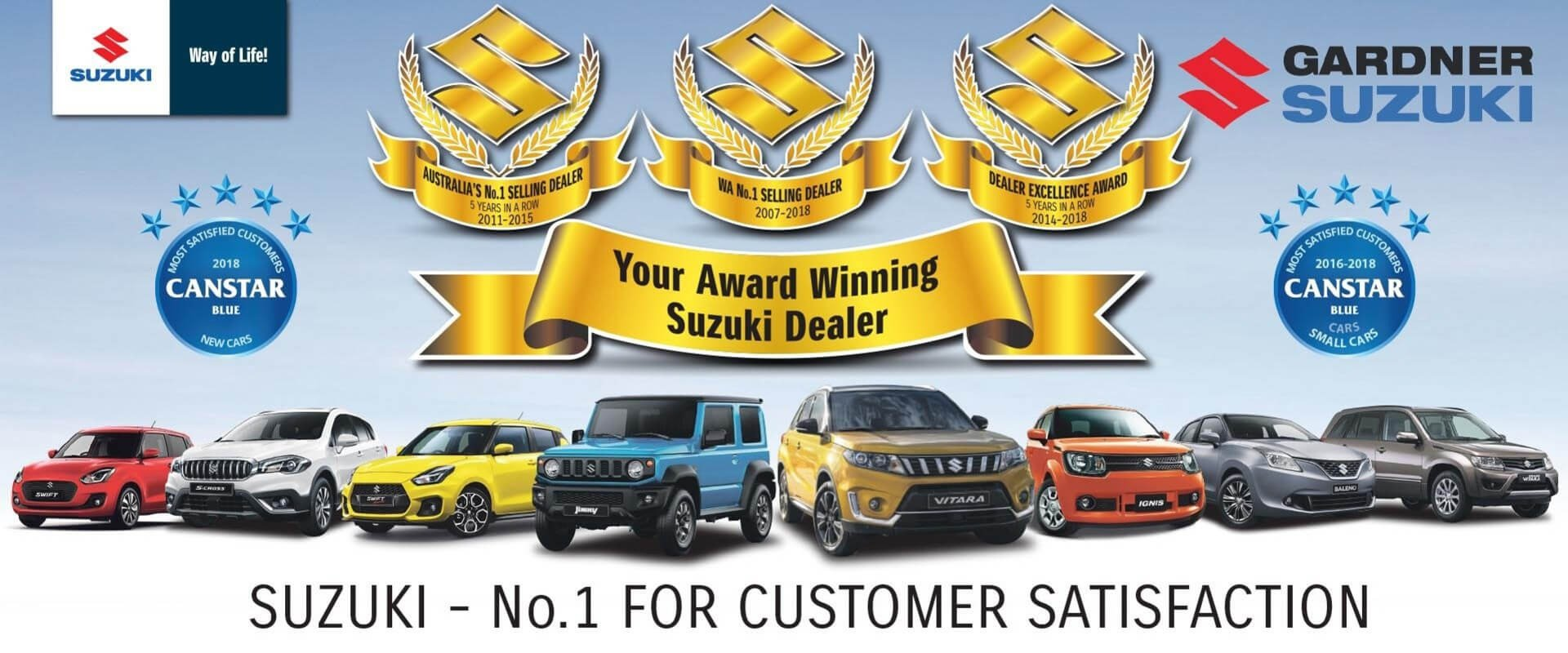 Suzuki - No.1 for Customer Service