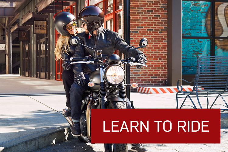 Find out more about our Motorcycle Riding School