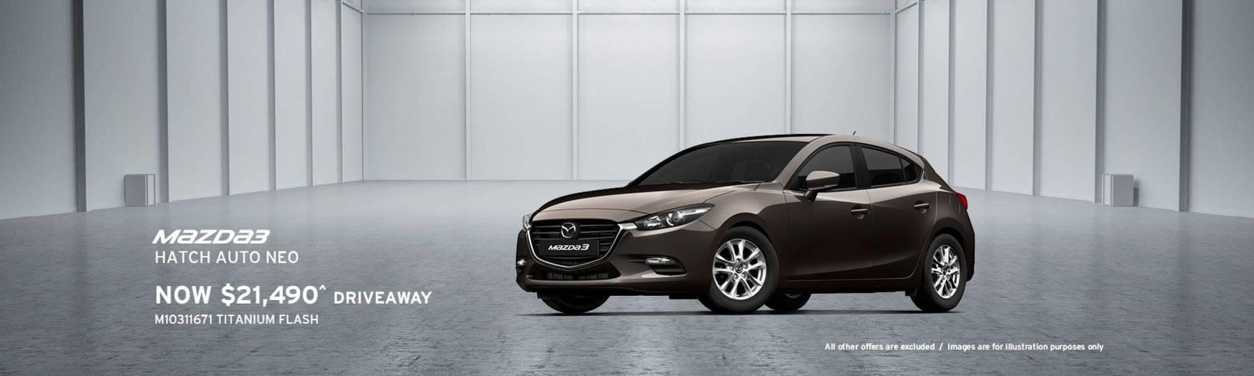 Newcastle Mazda, Mazda 3