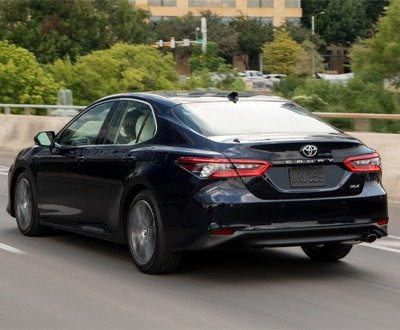The facelifted Toyota Camry features bold new styling, more advanced safety technology and a focus on hybrid powertrains (Overseas model shown) image