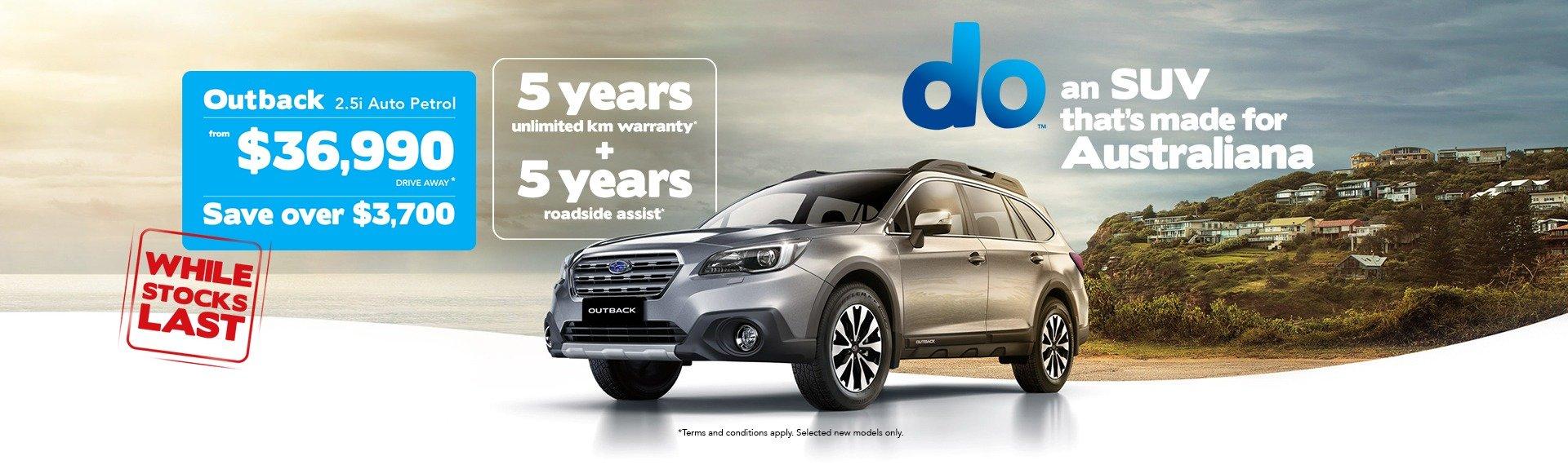 Subaru Outback Offer