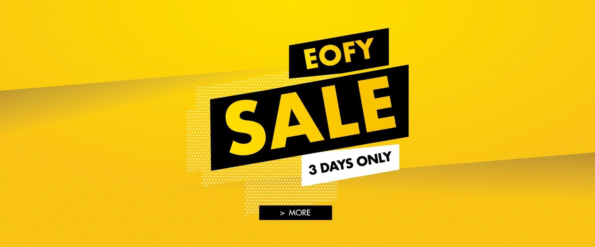 3 DAY EOFY SALE