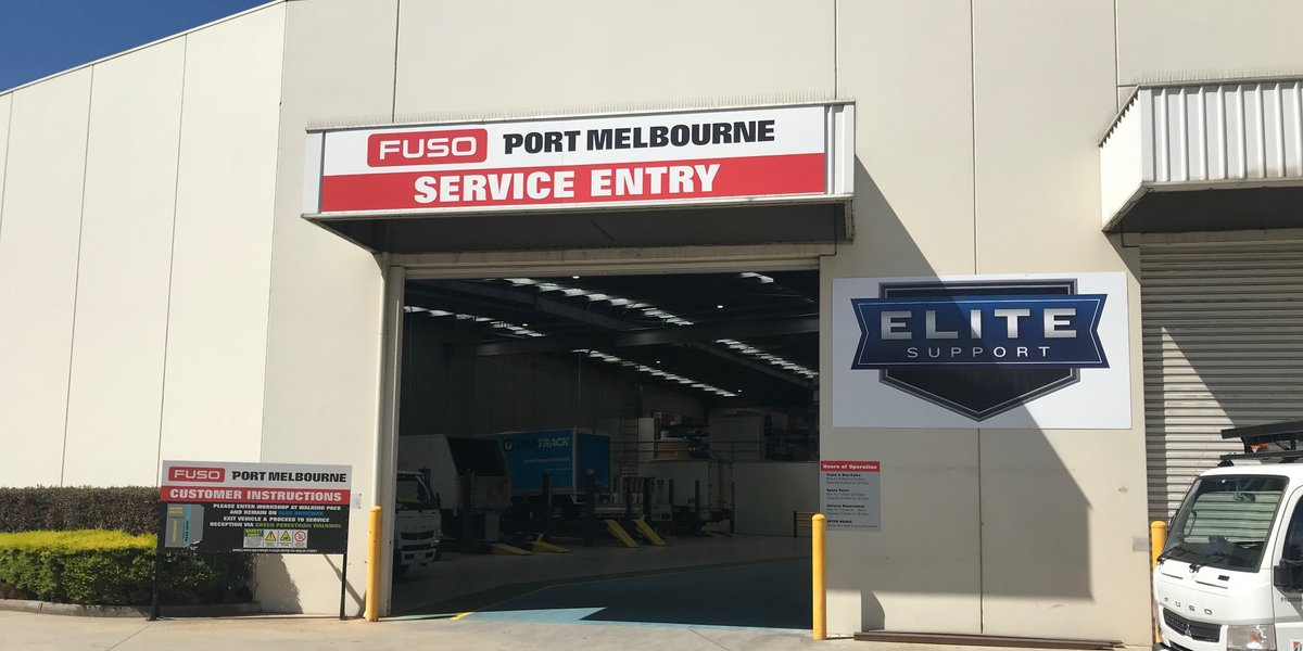 blog large image - Announcement - Fuso Port Melbourne is an Elite Support Certified Dealership