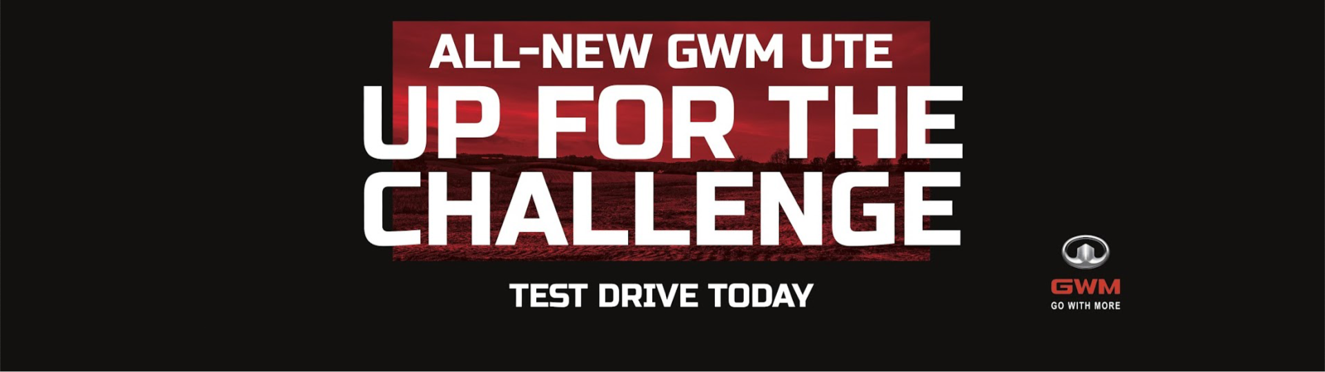 Test Drive the All-New GWM Ute Today!