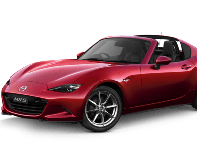 MX-5 RF 2L GT Soul Red Crystal roof off image