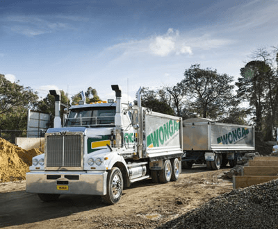 Western Star delivers the goods for Wonga Garden Supplies. image