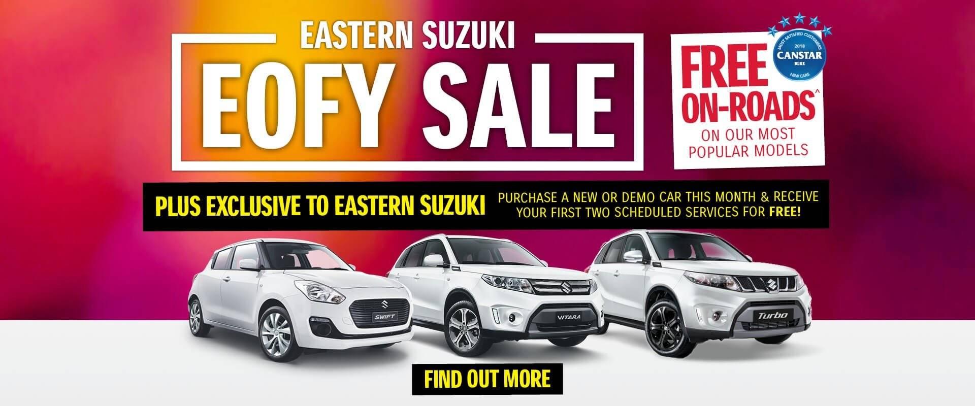 Eastern Suzuki EOFY Sale
