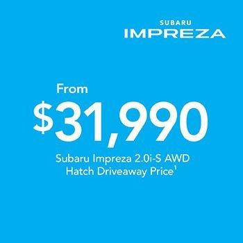 2019 Plate Clearance - Impreza 2.0i-S AWD Hatch Small Image