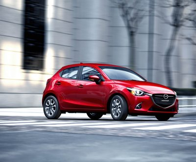 Reliable Mazda 2 in Red from Melville Mazda image