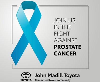 John Madill Toyota supports prostate cancer fundraiser image