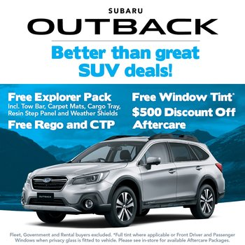 Better than great Outback deals! Small Image