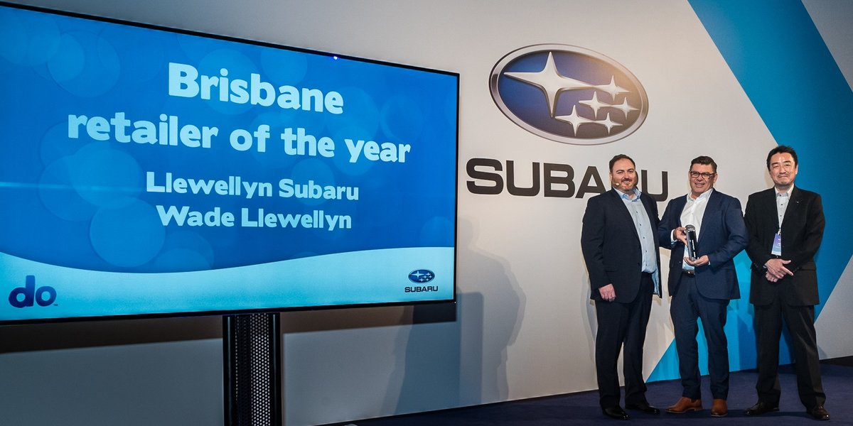 blog large image - Llewellyn Subaru Wins Subaru    Brisbane Retailer of the Year and Spirit Award