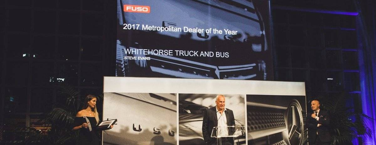 2017 Fuso Metropolitan Dealer of the Year- Whitehorse Truck and Bus