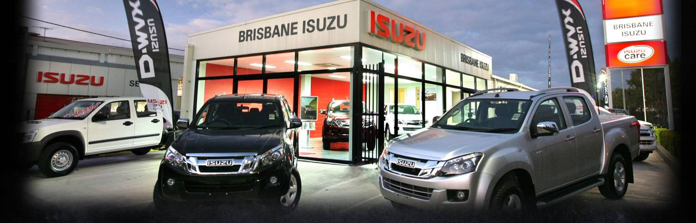 Welcome to Brisbane Isuzu Ute