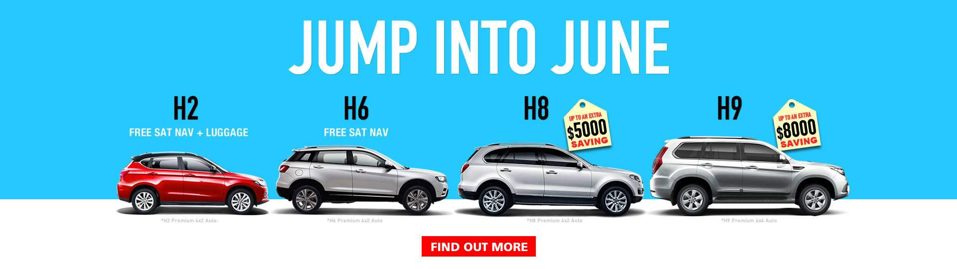 HAVAL Jump into June