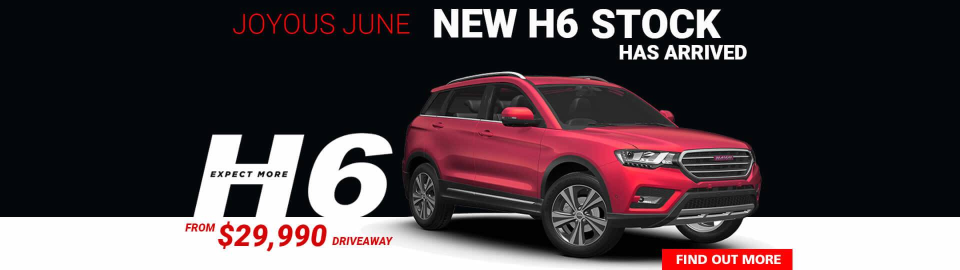 Haval H6 New Stock