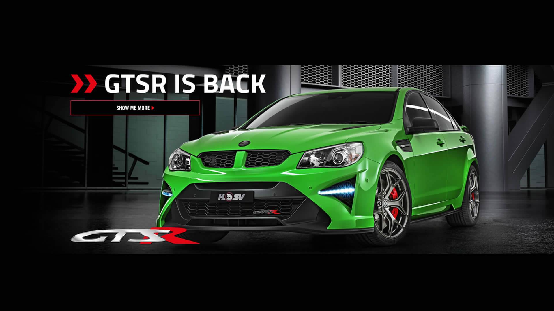 HSV TEMPLATE GTSR IS BACK