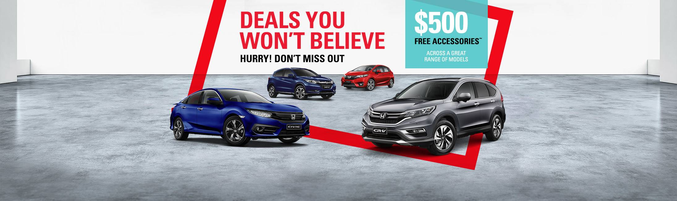 Honda Deals You Wont Believe