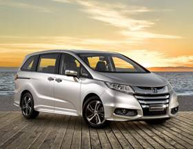 With its low lines, elegant proportions and fine details the Honda Odyssey is destined to turn heads.