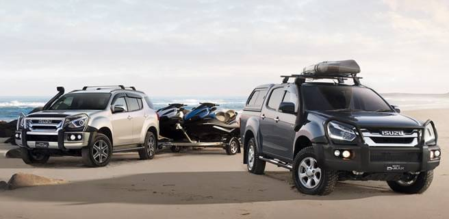 Isuzu Ute MUX and DMAX