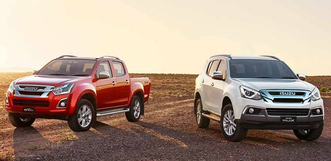 Isuzu UTE MU-X and D-MAX