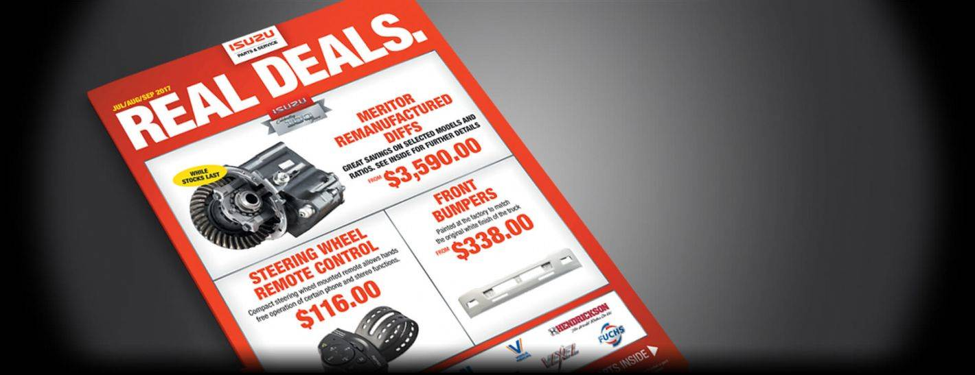Isuzu Trucks - Real Deals
