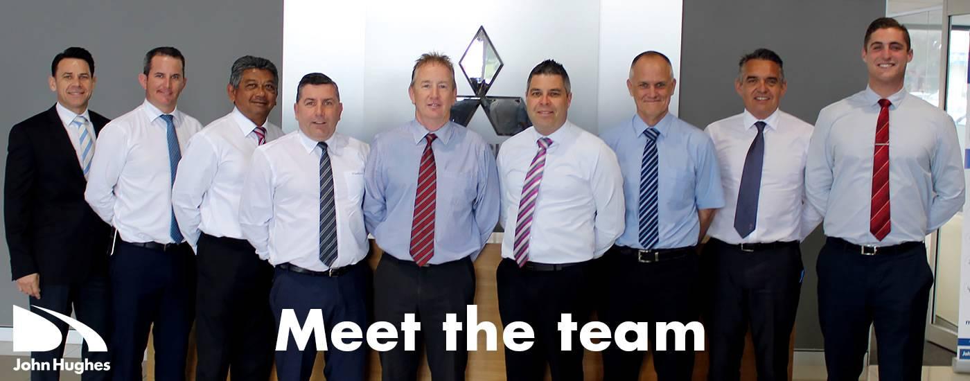 John Hughes Mitsubishi Meet The Team