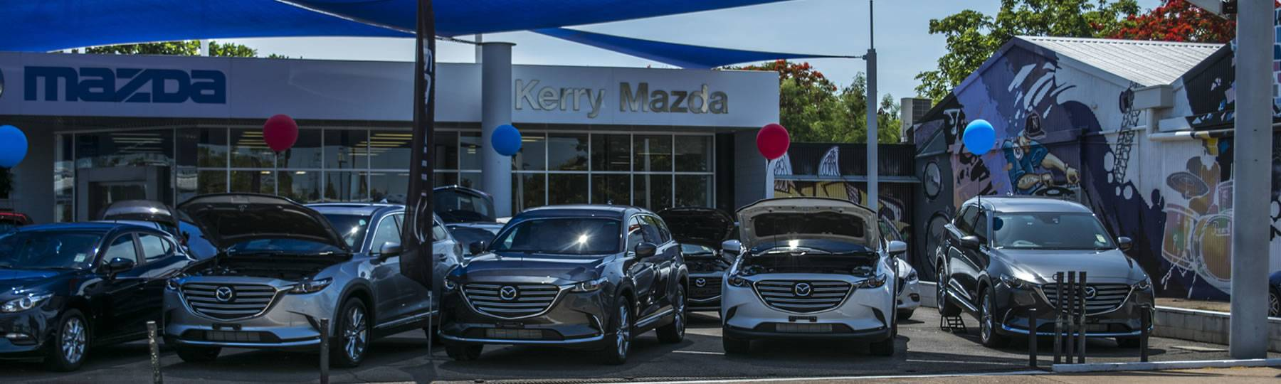 Kerry Mazda - Visit Us in Darwin
