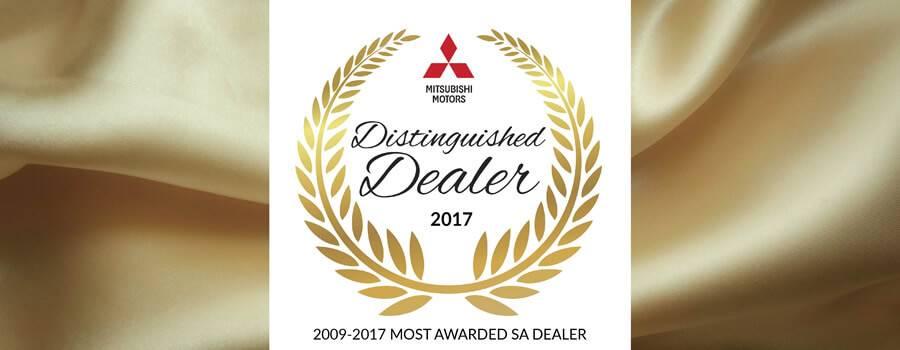 Distinguished Dealer 2017 Mitsubishi