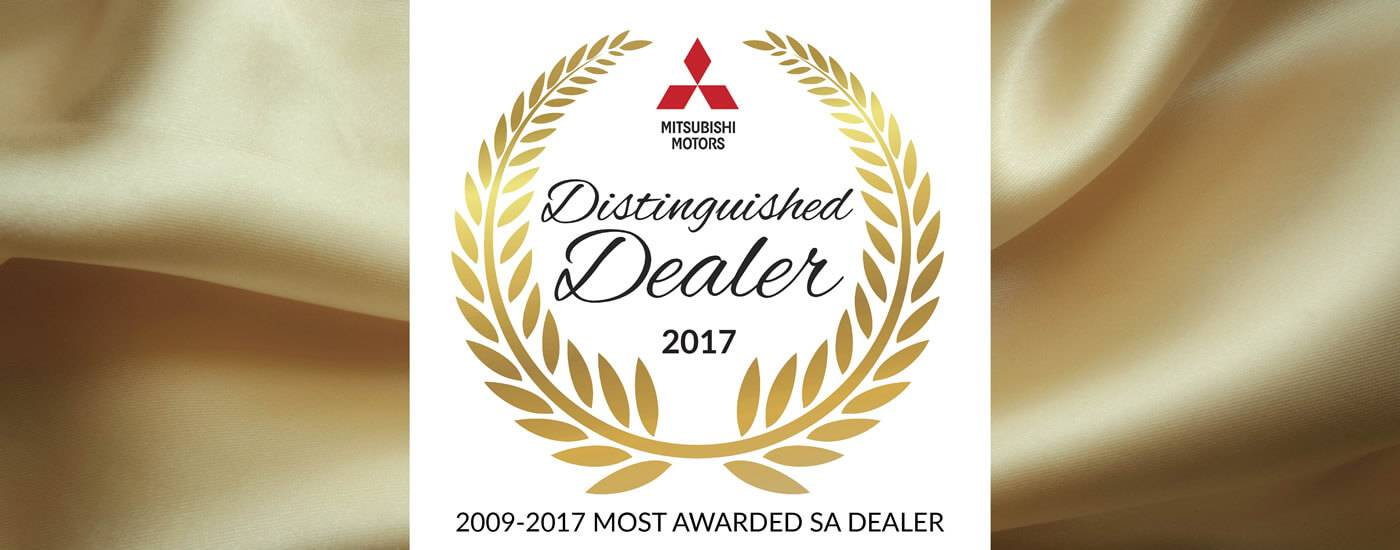 Mitsubishi Distinguished Dealer 2017