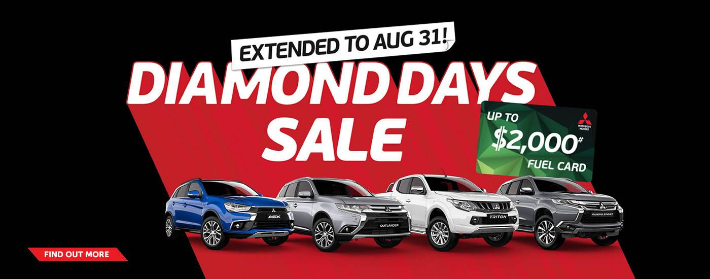 Mitsubishi Diamond Deals Aug17