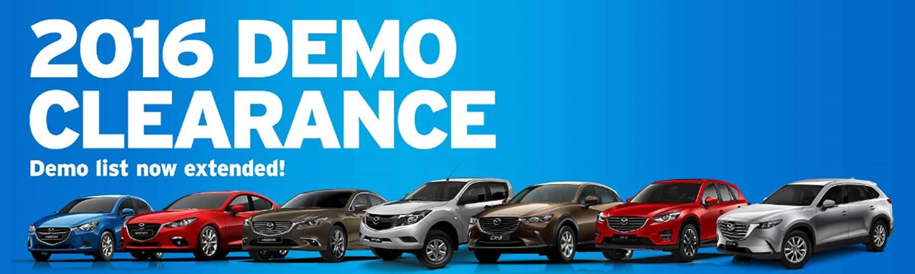 Ringwood Mazda Demo Clearance