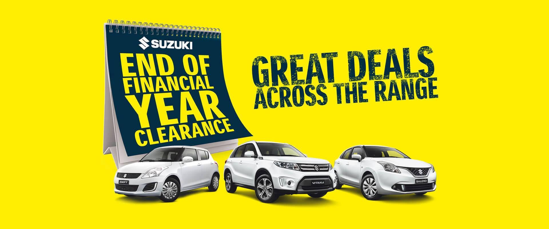 Suzuki EOFY Clearance