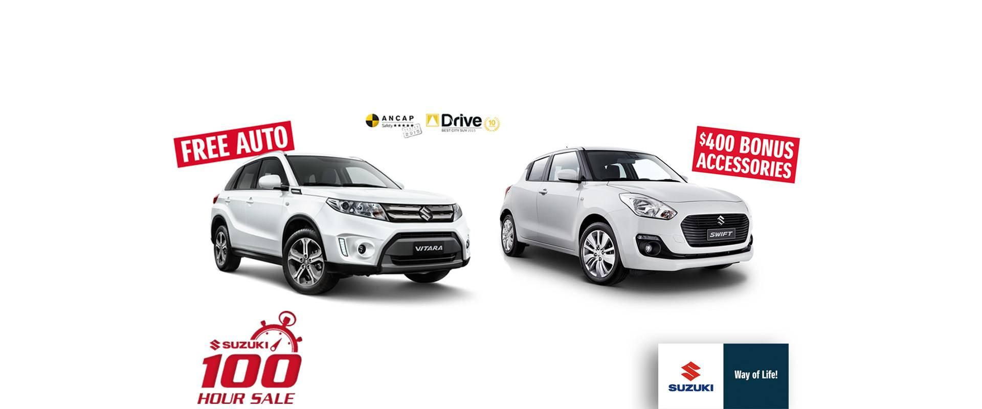 Suzuki 100Hr Sale