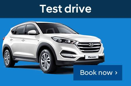Book a Hyundai test drive