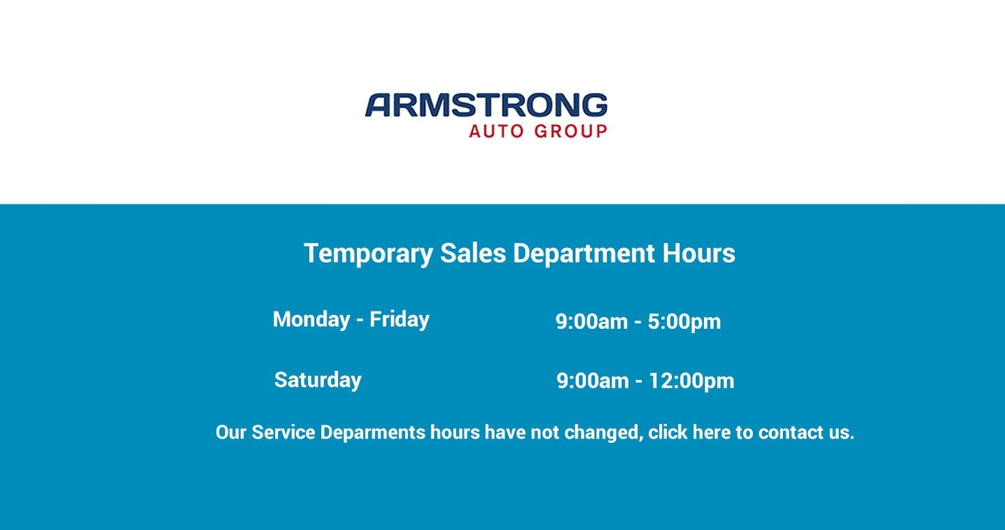 Temporary Sales Hours
