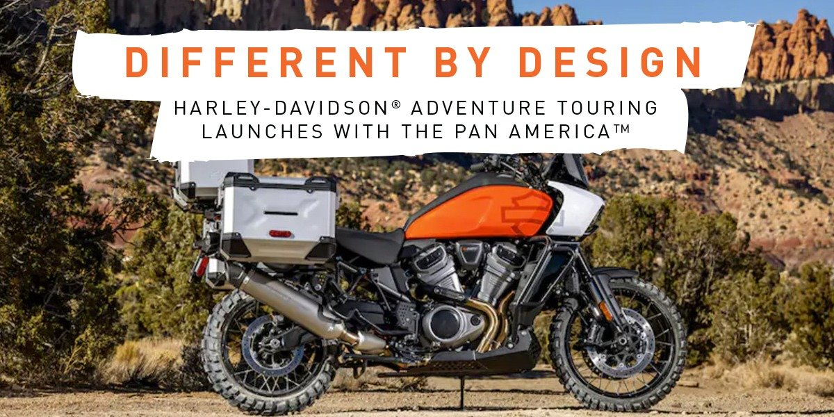 blog large image - Pan America™ By Harley-Davidson® Engineered For Adventure