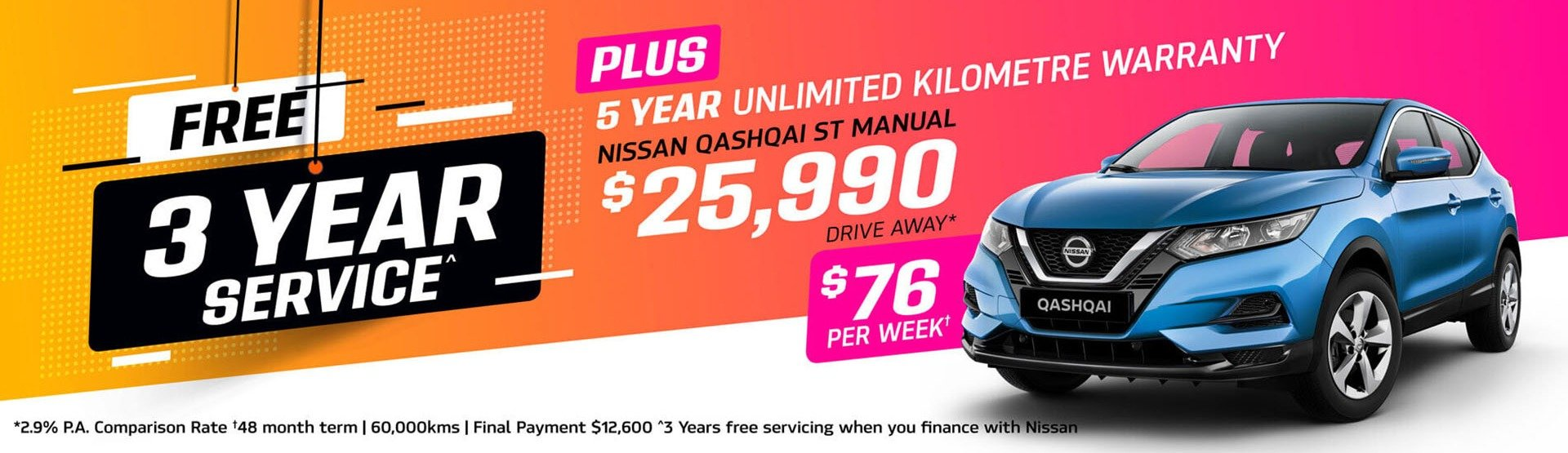 Parry NQ Nissan Qashqai Offer